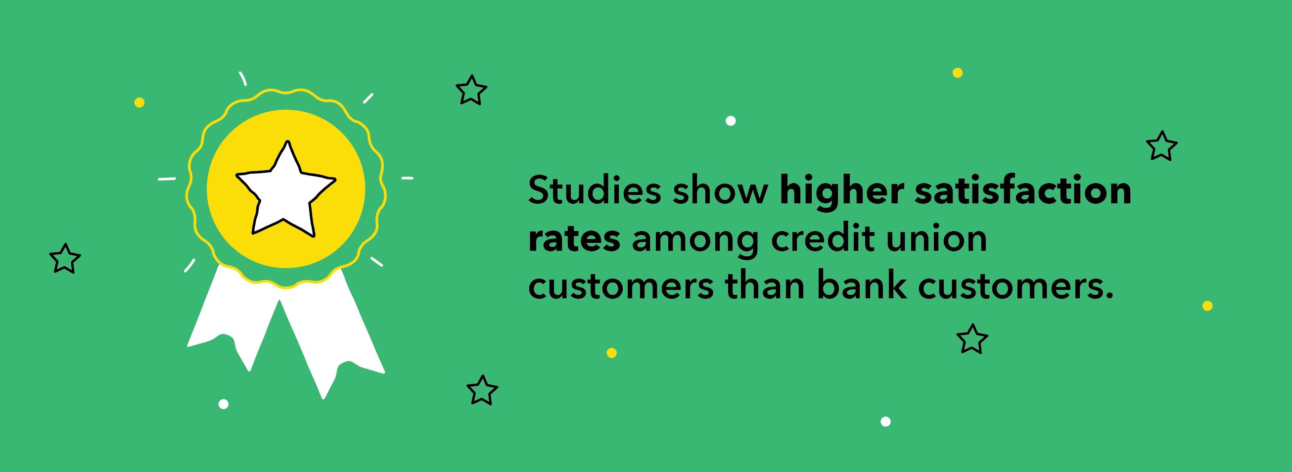 Studies show higher satisfaction
