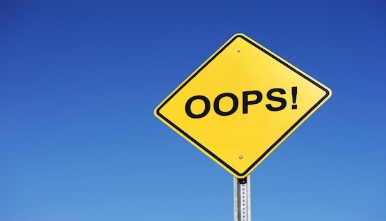 Oops! How to Recover From a Financial Resolution Slip-Up