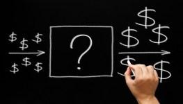 Investment Concept Blackboard