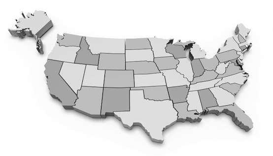 10 States That are Maxxed Out on Credit Cards :: Mint.com/blog