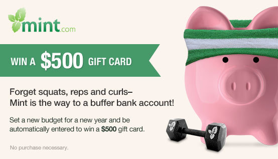 30 Days to a Buffer Bank Account - Win $500 from Mint.com!