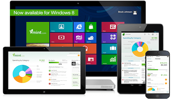 first reviews of mint s new windows 8 budget app mintlife blog