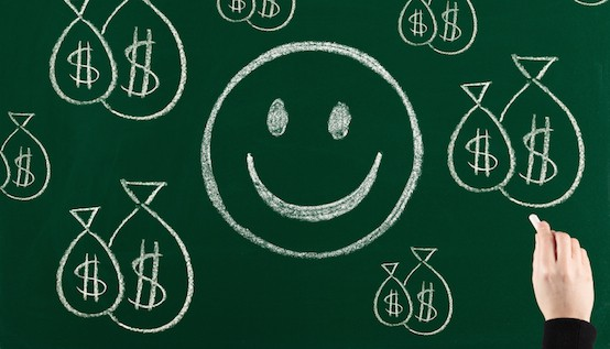 How Much Money Will Make You Happy? :: Mint.com/blog