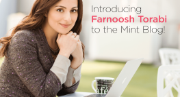 Exciting News from Mint: Welcome, Farnoosh!