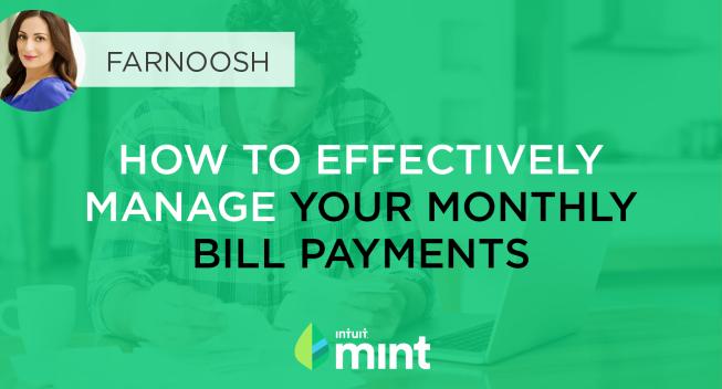 Manage Bills