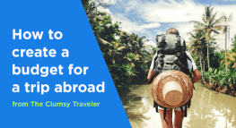 How to Create a Budget for a Trip Abroad
