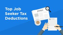 Top Job Seeker Tax Deductions