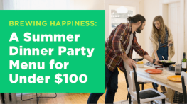 A Summer Dinner Party Menu for Under $100