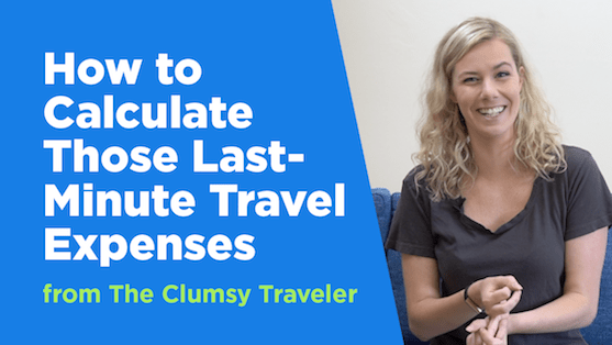 how to calculate those last minute travel expenses mintlife blog