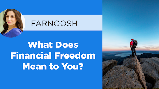 What does financial freedom mean to you?