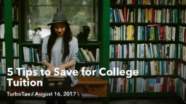 5 Tips to Save for College Tuition