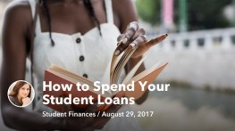 Aug 29 How to Spend Your Student Loans