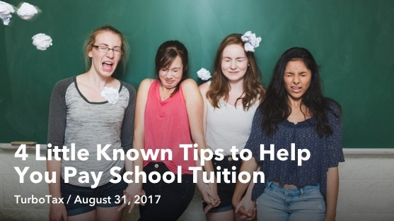 Aug 31 4 Little Known Tips to Help You Pay School Tuition