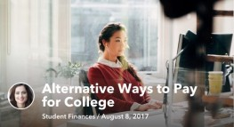 Alternative Ways to Pay for College