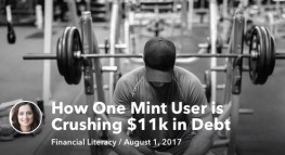 How One Mint User is Crushing $11k in Debt in Just One Year