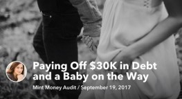 Paying off $30K in Debt and a Baby on the Way