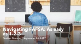 Navigating FAFSA: As easy as 1-2-3