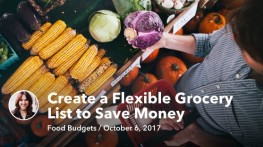 How to Create a Flexible Grocery List to Save Money