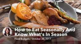 How to Eat Seasonally And Know What's In Season