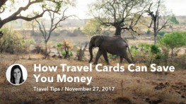 Nov 27 How Travel Cards Can Save You Money