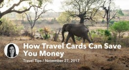How Travel Cards Can Save You Money