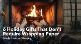 6 Unique Holiday Gifts That Don't Require Wrapping Paper