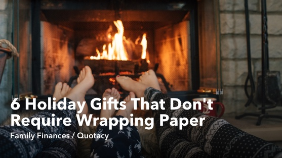 6 Unique Holiday Gifts that Dont Require Wrapping Paper6