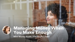 Mint Money Audit: Managing Money When You Make Enough