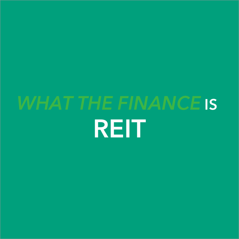 what does REIT stand for