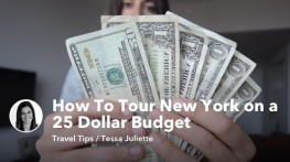 How To Tour New York on a 25 Dollar Budget
