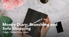 Money Diary: Brunching and Sofa Shopping