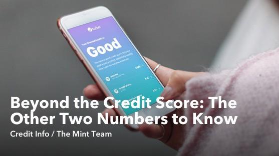 Beyond the Credit Score