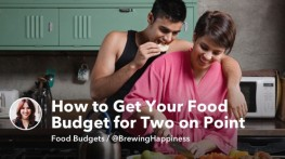 How to Get Your Food Budget for Two on Point