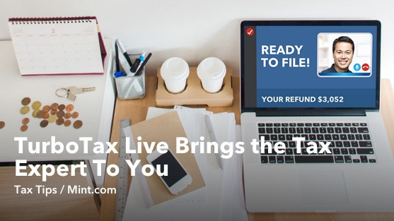TurboTax Live Brings the Tax Expert to You