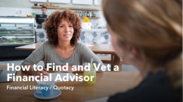 How to Find and Vet a Financial Advisor