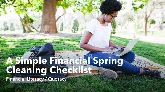 A Simple Financial Spring Cleaning Checklist
