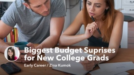 The 4 Biggest Budget Suprises for New College Grads