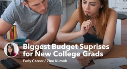 The 4 Biggest Budget Surprises for New College Grads