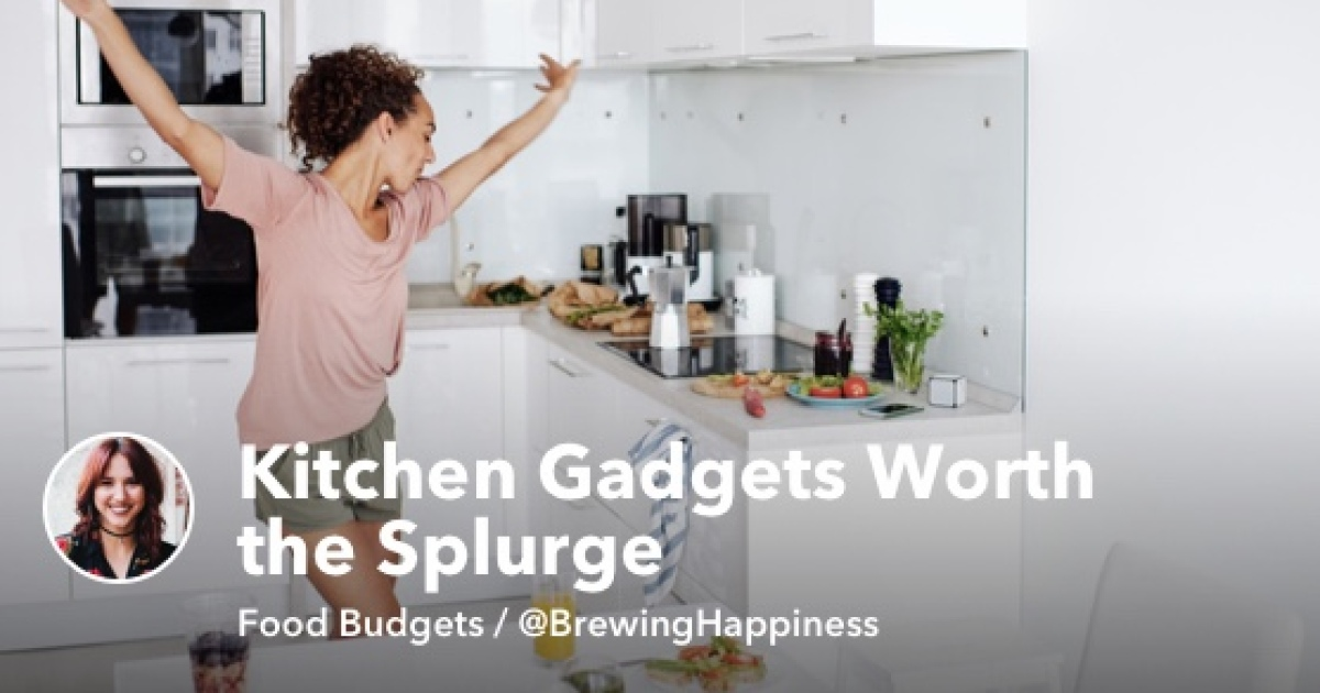 New Grads: Kitchen Gadgets Worth the Splurge