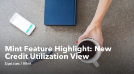 Mint Feature Highlight: New Credit Utilization View