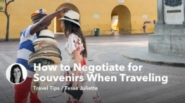 How to Negotiate for Souvenirs When Traveling