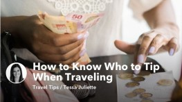 How to Know Who to Tip When Traveling Internationally