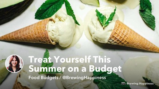 Pictured: Coconut Melon Mint Ice Cream by @BrewingHappiness