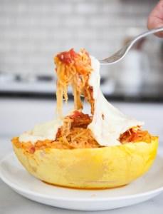 Spaghetti Squash Lasagna | MyHealthDish | Mint Blog