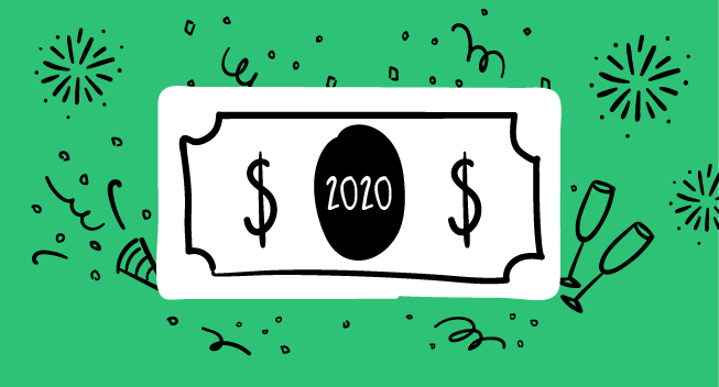 NewDecadeNewYou: 2020 Financial Resolutions By The Numbers