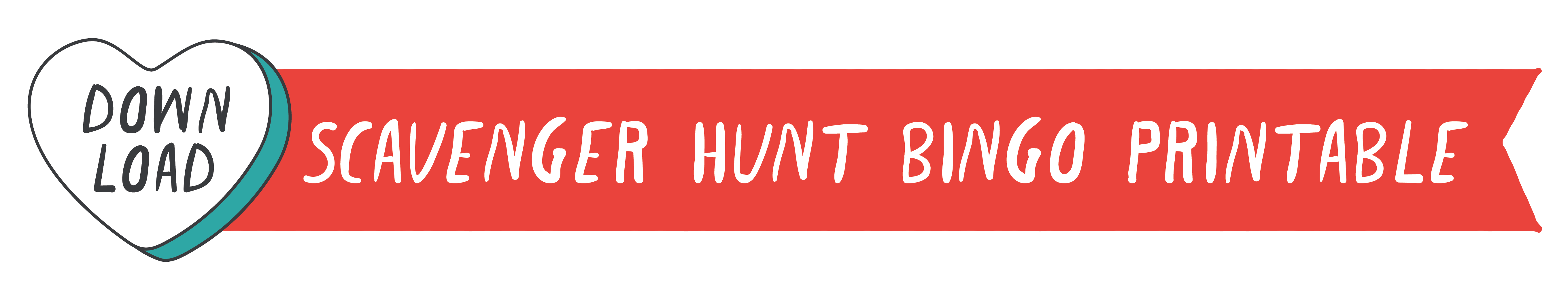 Scavenger Hunt Bingo Printable