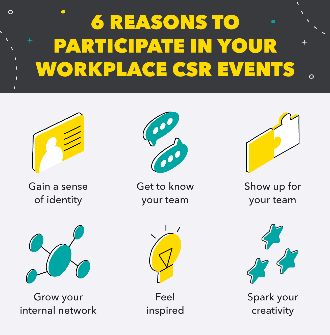 6 Reasons to Participate in CSR