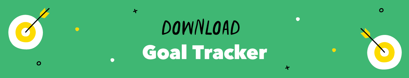 Goal Tracker Download Button
