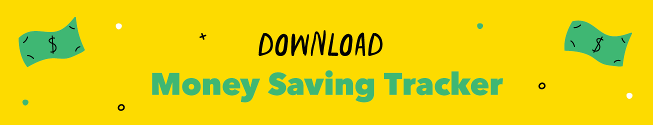 Money Saving Tracker Download Button