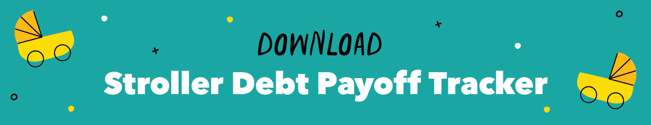 Stroller Debt Payoff Tracker Download